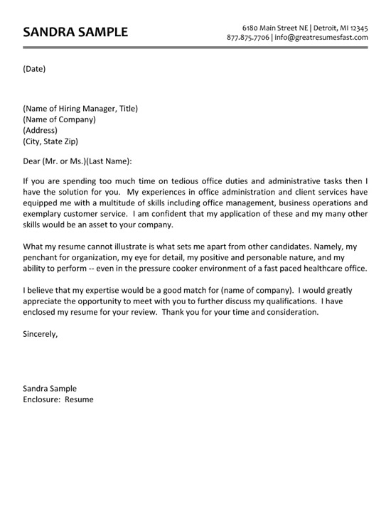 Administrative Assistant Thank You Letter from resume-resource.com