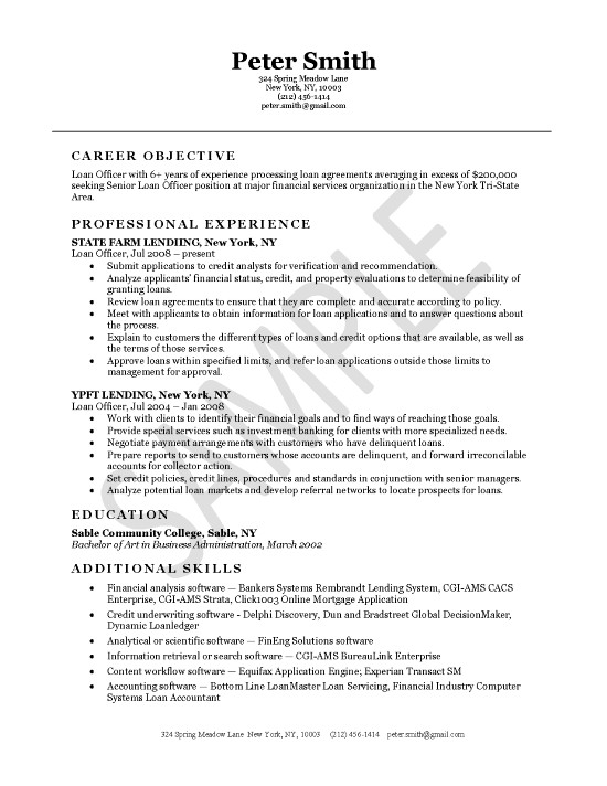 Great Resume Resource