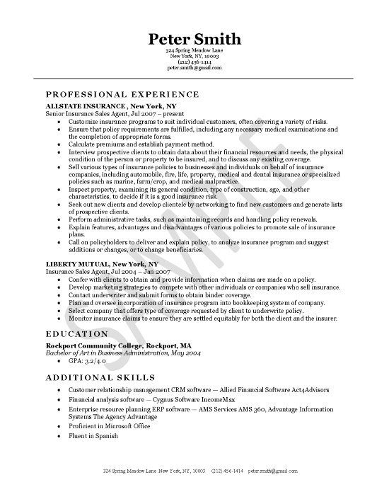 Skills In Resumes Samples