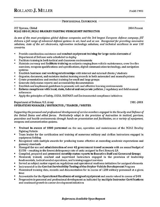 Program Process Manager Resume Example