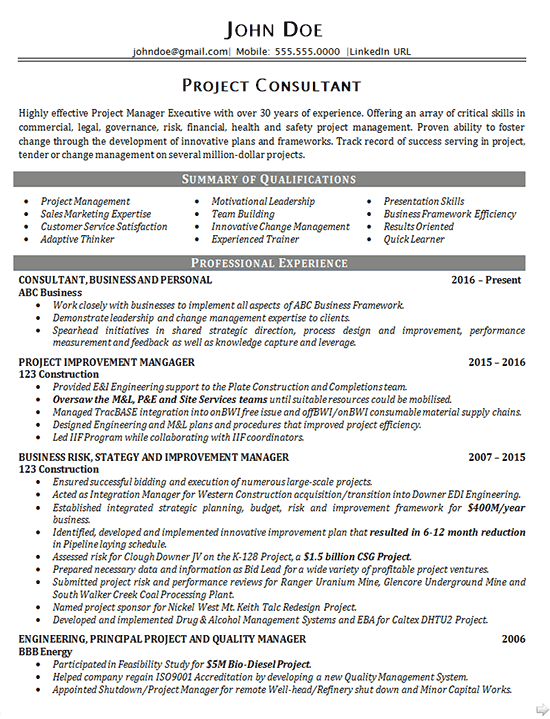 Include Salesman Experience On Resume